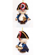 TEMPORARILY OUT OF STOCK - President Washington Wooden Ornament Christian Steinbach