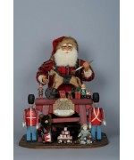 TEMPORARILY OUT OF STOCK Karen Didion  Vintage Toymaker Santa Claus