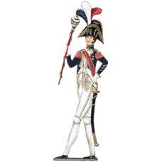 French Guard Soldiers' Standing Pewter Wilhelm Schweizer