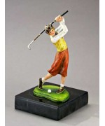 TEMPORARILY OUT OF STOCK <BR><BR> Vienna Bronze 'Female Golfer'