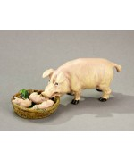 Vienna Bronze Mama Pig with Her Piglets