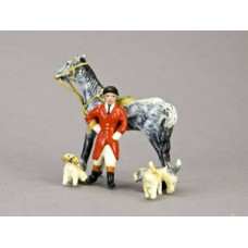 TEMPORARILY OUT OF STOCK - Vienna Bronze Fox Hunter with his Hounds
