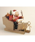 TEMPORARILY OUT OF STOCK - KWO Smokermen Christmas 'Santa In His  Sleigh'