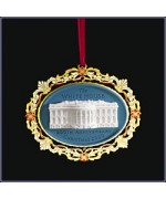 The White House Historical Christmas Ornament 200th Anniversary White House - 2000