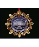 The White House Historical Christmas Ornament Centennial - 2002