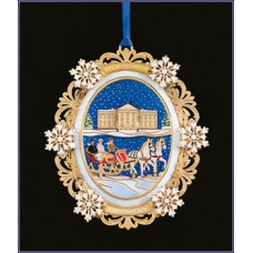 The White House Historical Christmas Ornament Rutherford B. Hayes - 2004