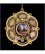 The White House Historical Christmas Ornament James Garfield - 2005