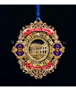 The White House Historical Christmas Ornament Chester Arthur - 2006