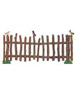 Wilhelm Schweizer  Easter Oster Pewter  Wooden Fence