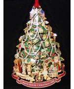 The White House Historical Christmas Ornament Benjamin Harrison - 2008