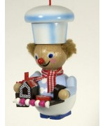 TEMPORARILY OUT OF STOCK The Gingerbread Baker Wooden Ornament Christian Steinbach
