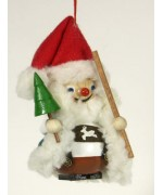 TEMPORARILY OUT OF STOCK - Bavarian Santa Wooden Ornament Christian Steinbach