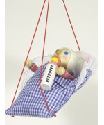 TEMPORARILY OUT OF STOCK Baby Girl Wooden Ornament Christian Steinbach