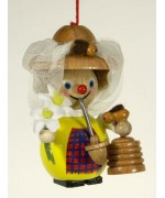 TEMPORARILY OUT OF STOCK - The Beekeeper Wooden Ornament Christian Steinbach