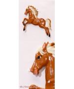 Horse Hanging Ornament Wilhelm Schweizer