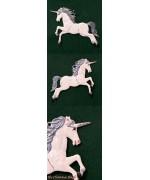 Unicorn Hanging Ornament Wilhelm Schweizer