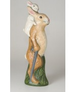 TEMPORARILY OUT OF STOCK <BR><BR>  Vaillancourt Standing Easter Rabbit