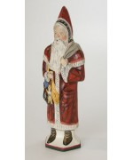 Vaillancourt  Large Santa with Switches Ivy Coat