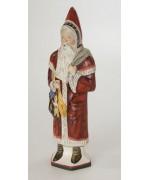 Vaillancourt  Large Santa with Switches Ivy Coat