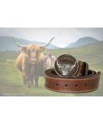 Scottish Highland 'Leather Belt' - Irish