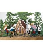 Wilhelm Schweizer Fairytale Pewter Hansel & Gretel Set of 8