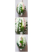 Peter Priess of Salzburg Hand Painted Easter Egg