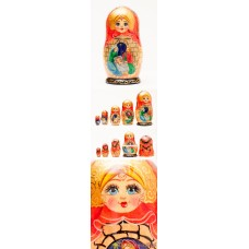 Nativity Nesting Doll G. DeBrekht - TEMPORARILY OUT OF STOCK
