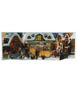 TEMPORARILY OUT OF STOCK - Old German Paper Advent Panorama Calendar