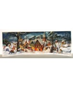 TEMPORARILY OUT OF STOCK - Old German Paper Advent  3 - D Calendar