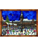 TEMPORARILY OUT OF STOCK - Old German Paper Advent Calendar  Hamburg