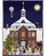Weihnachtskarte  Advent Calendar Card - TEMPORARILY OUT OF STOCK
