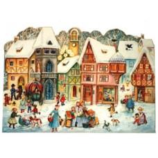 Old German Paper Advent  Calendar