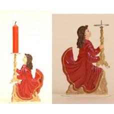 Angel Candle Christmas Pewter Wilhelm Schweizer