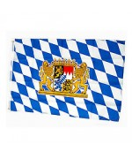 TEMPORARILY OUT OF STOCK - Oktoberfest Bavarian Flag Bayrische Fahne Germany