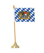 TEMPORARILY OUT OF STOCK <BR><BR> Bavarian Table Flag