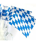 TEMPORARILY OUT OF STOCK <BR><BR> Bavarian Paper Flags