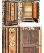 Handcrafted German Wooden Cabinet