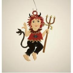 Little Devil Hanging Ornament Wilhelm Schweizer