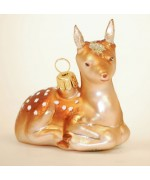 TEMPORARILY OUT OF STOCK - Hanco Glass Ornament Doe
