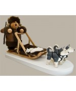 KWO Smokermen Christmas Dog Sled