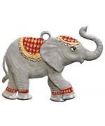 Elephant Christmas Pewter Wilhelm Schweizer