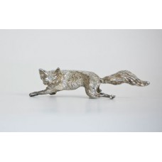 TEMPORARILY OUT OF STOCK <BR><BR> Pewter Fox Place Card Holder