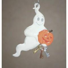 Ghost Hanging Ornament Wilhelm Schweizer