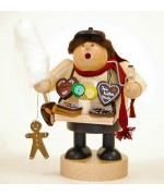 TEMPORARILY OUT OF STOCK  KWO Smokermen Christmas 'Gingerbread Man'