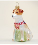 Hanco Glass Ornament 'Dog'