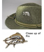 German Fish ' Hat Pin '