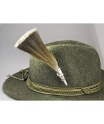 TEMPORARILY OUT OF STOCK - German  Mountain Goat Brush ' Hat Pin '
