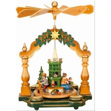 Grossmutter's Weihnachtsstube Original HUBRIG Wooden Figuren