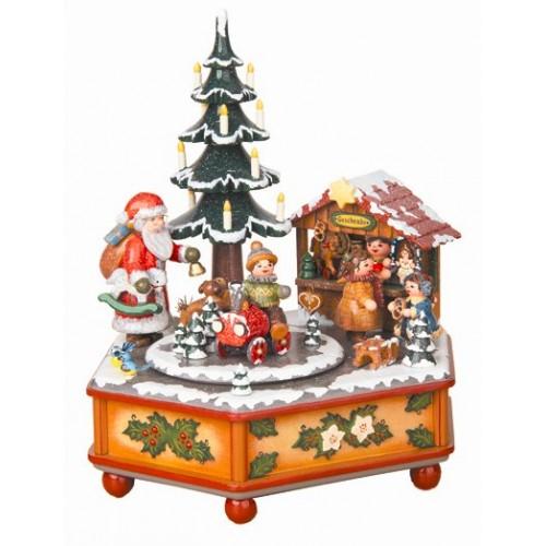 Weihnachtszeit Original HUBRIG Wooden Figuren