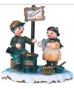 HeiBe Maronen'Original HUBRIG Wooden Figuren